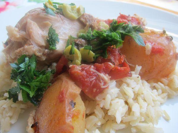 Pollo a la Veracruzana: Chicken a la Veracruzana