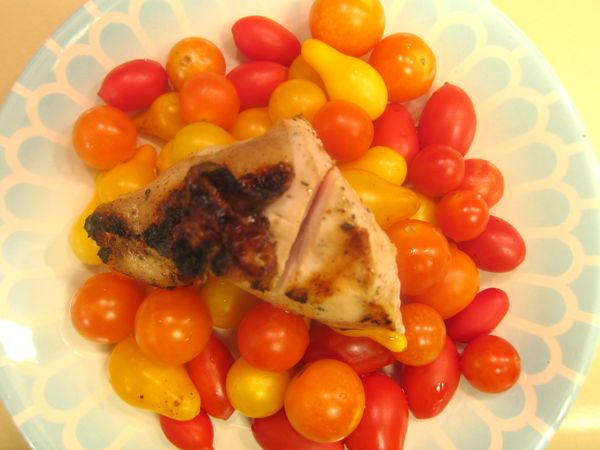 Escabeche de Pollo Asado: Grilled Chicken Breasts with Yucatecan Spices