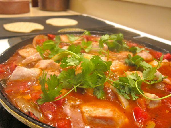 Puerco a la Mexicana: Pork Tenderloin a la Mexicana