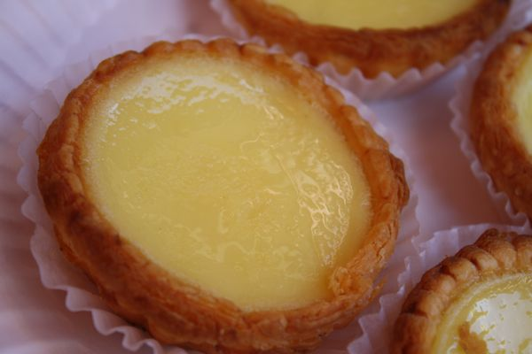 Egg  Custard Tarts from Golden Gate Bakery