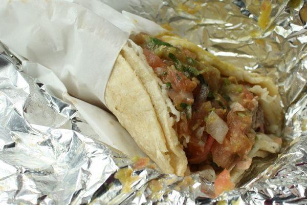 Carnitas Taco at La Taqueria