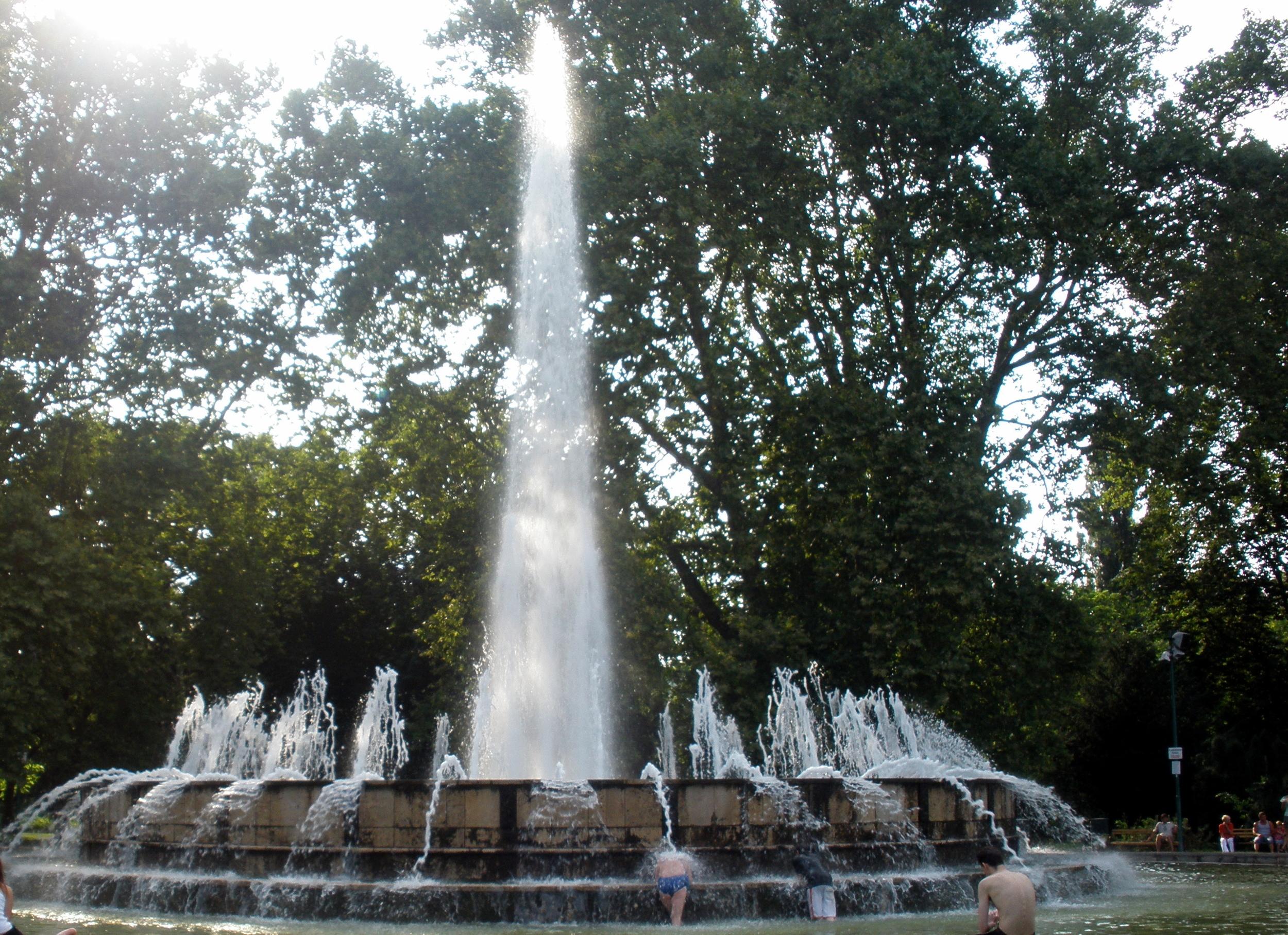 Musical Fountain at Margit Island