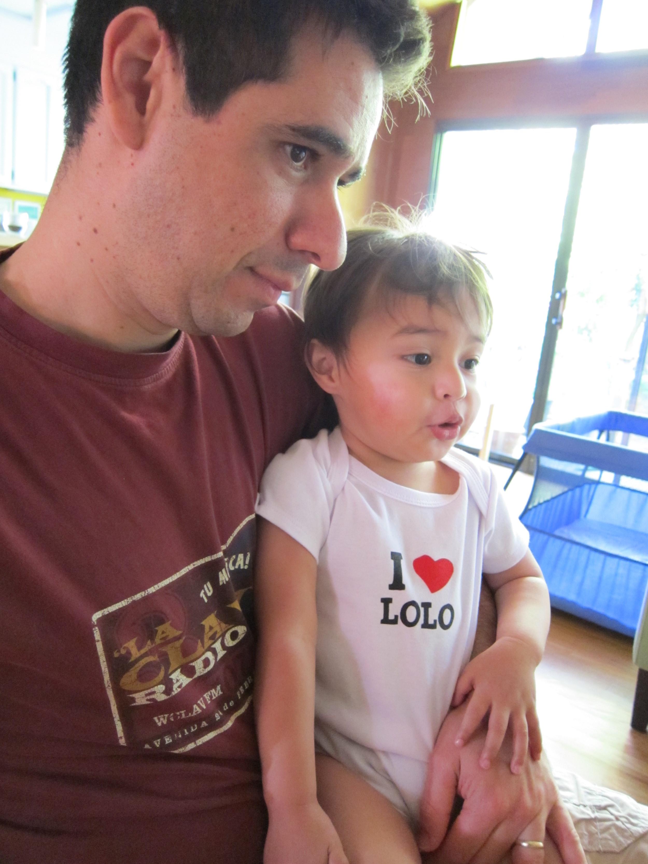 Elian loves Lolo