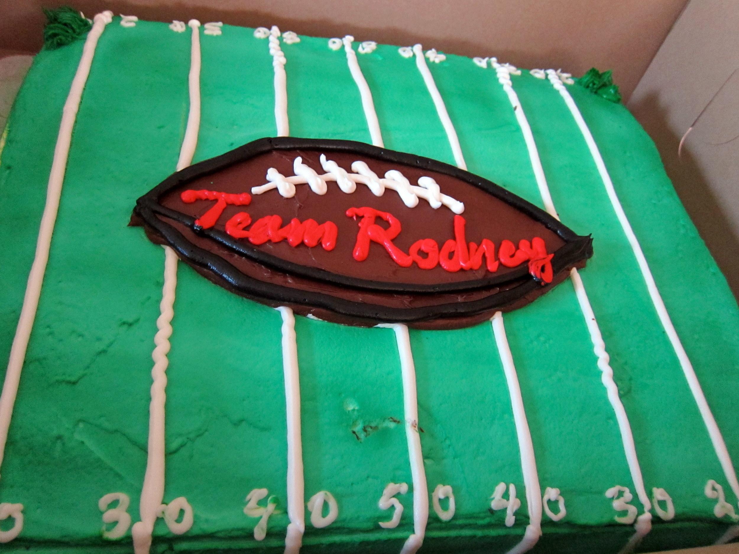 Rodney Birthday Cake