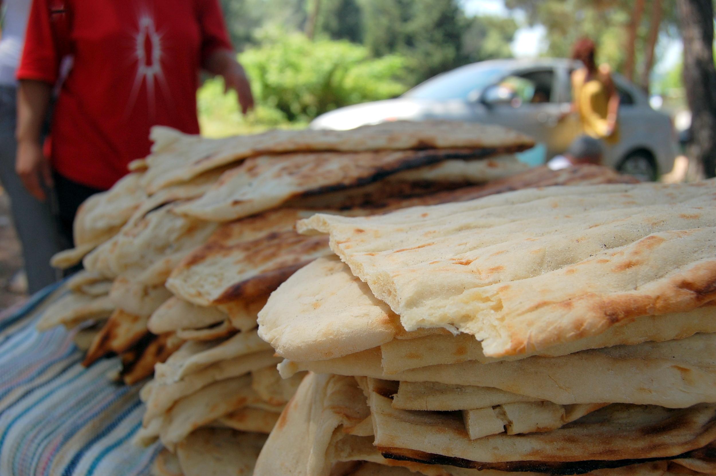 Naan Bread in Turkey