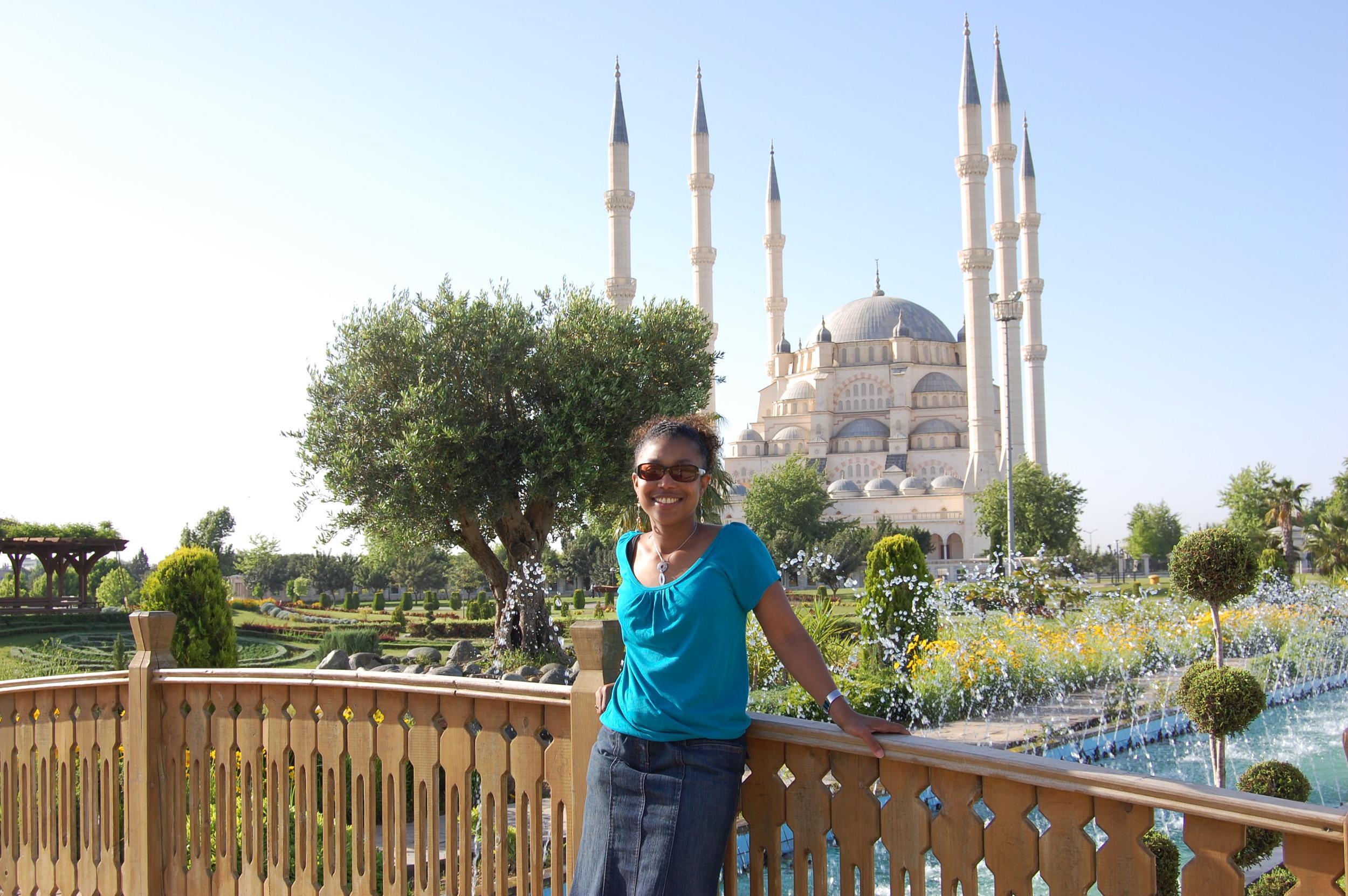 Shauntay in Turkey