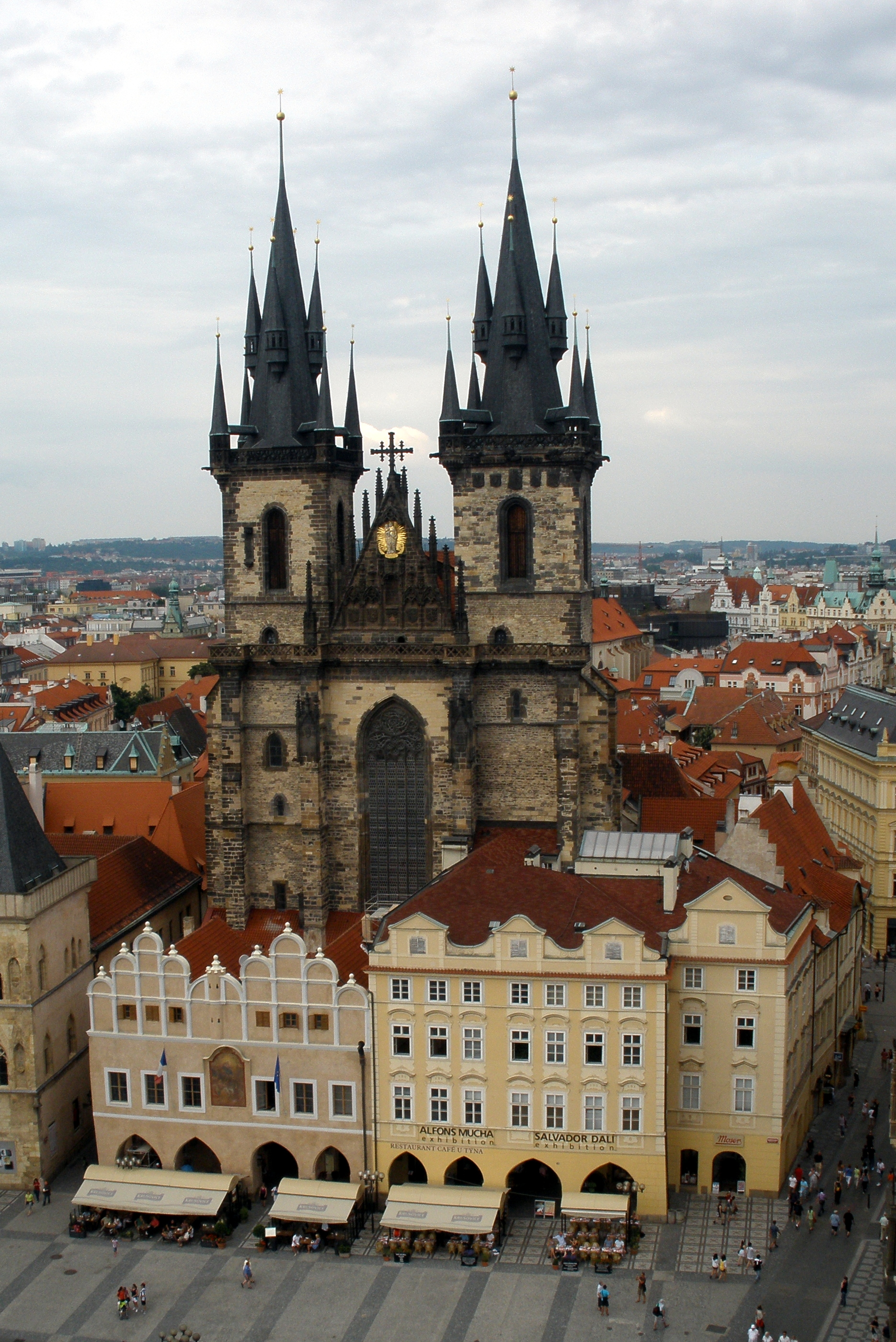 View from the Glokenspiel Prague