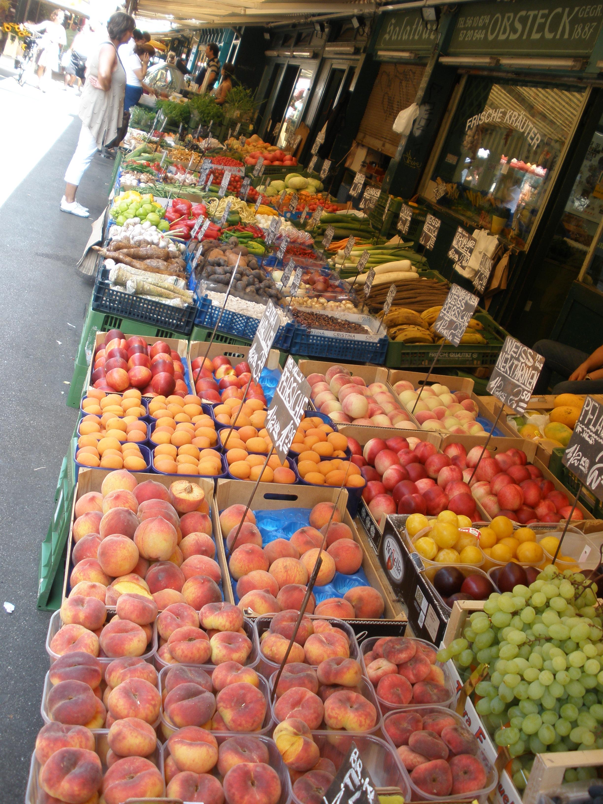 Fruit at Naschmarket Vienna