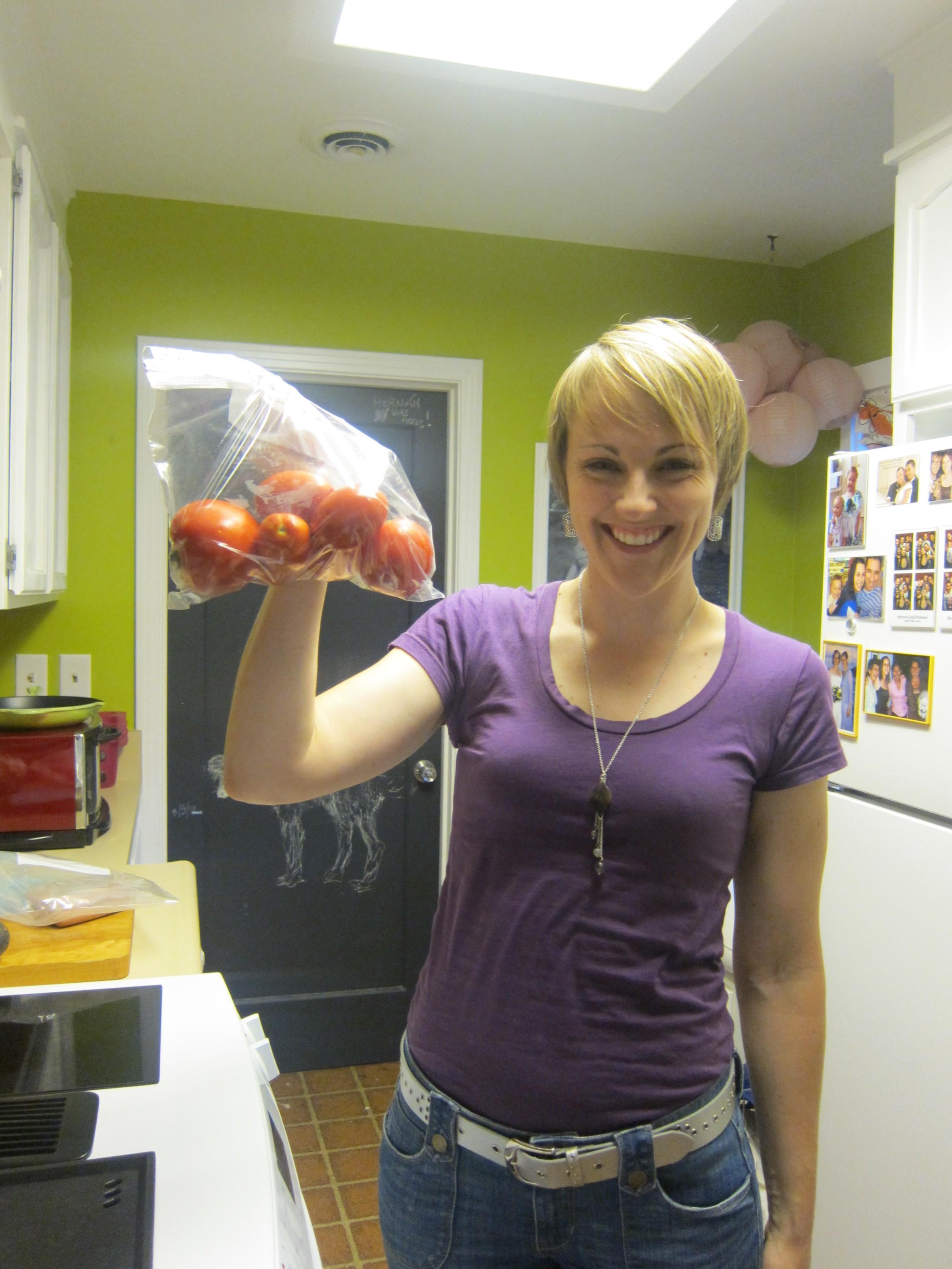 Lisa tomatos