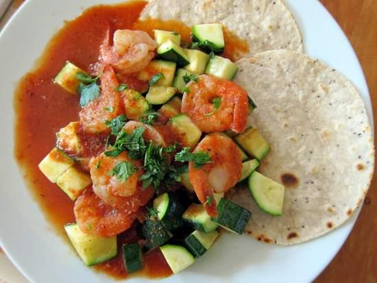 Camarones Enchipotladas: Chipotle Shrimp