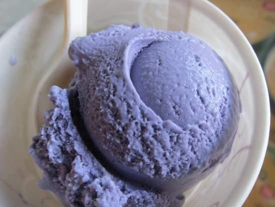 Ube Ice Cream at Mitchell's
