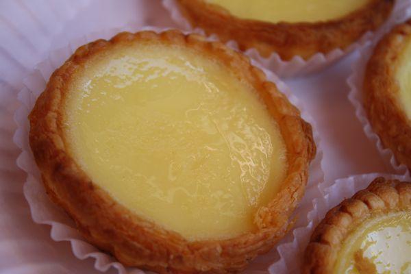 Egg  Custard Tarts from Golden Gate Bakery