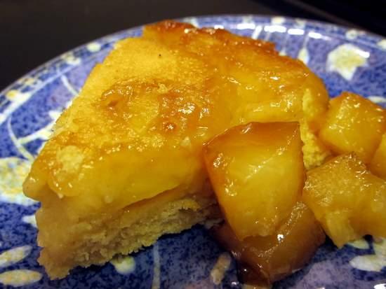 Volteado de Pina en Sarten: Pineapple Skilled Upside-Down Cake