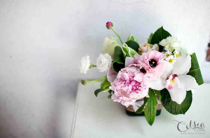 Burlap and Lace, Celsia Floral