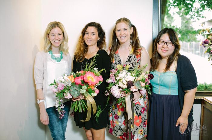 Flower school at Celsia Floral