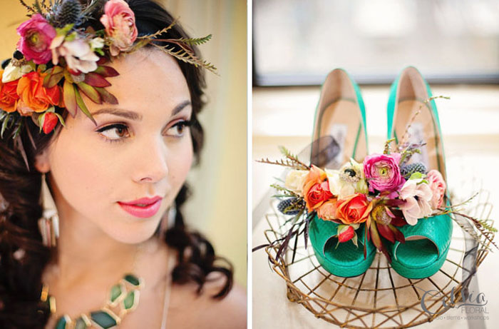 Vasia Photography, Le Soirees, Celsia Floral