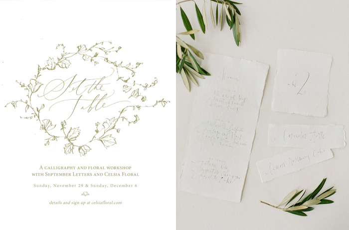 September Letters, Celsia Floral, Gucio Photography