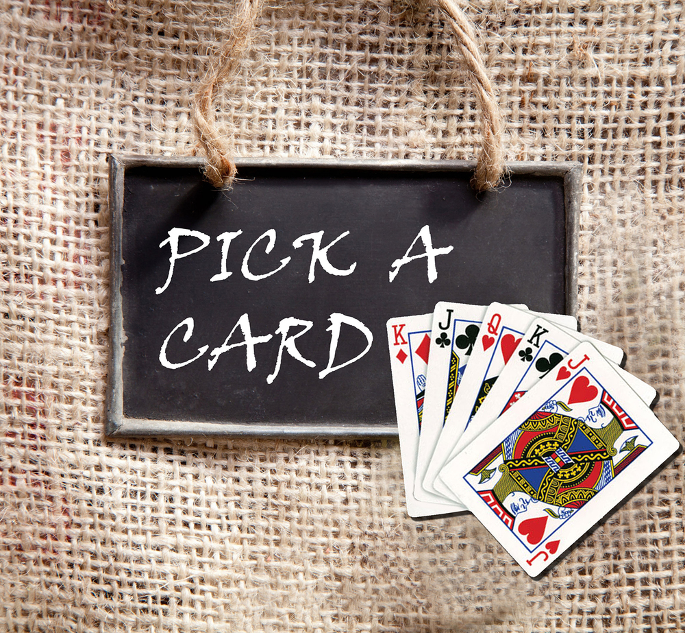 Pick a Card - Every Thursday Night