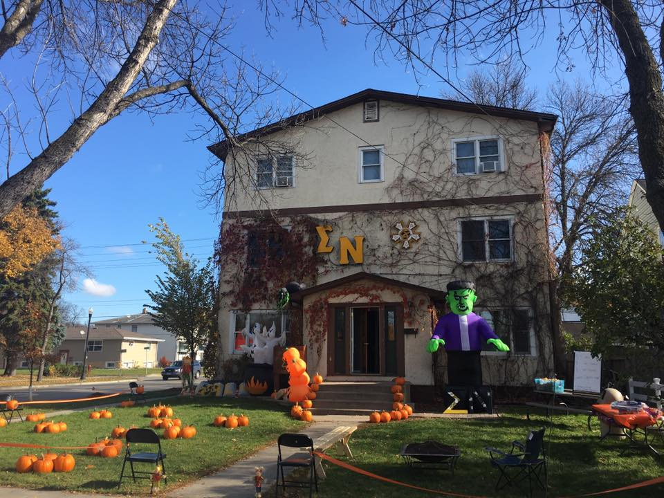 Sigma Nu pumpkin patch fall 2016