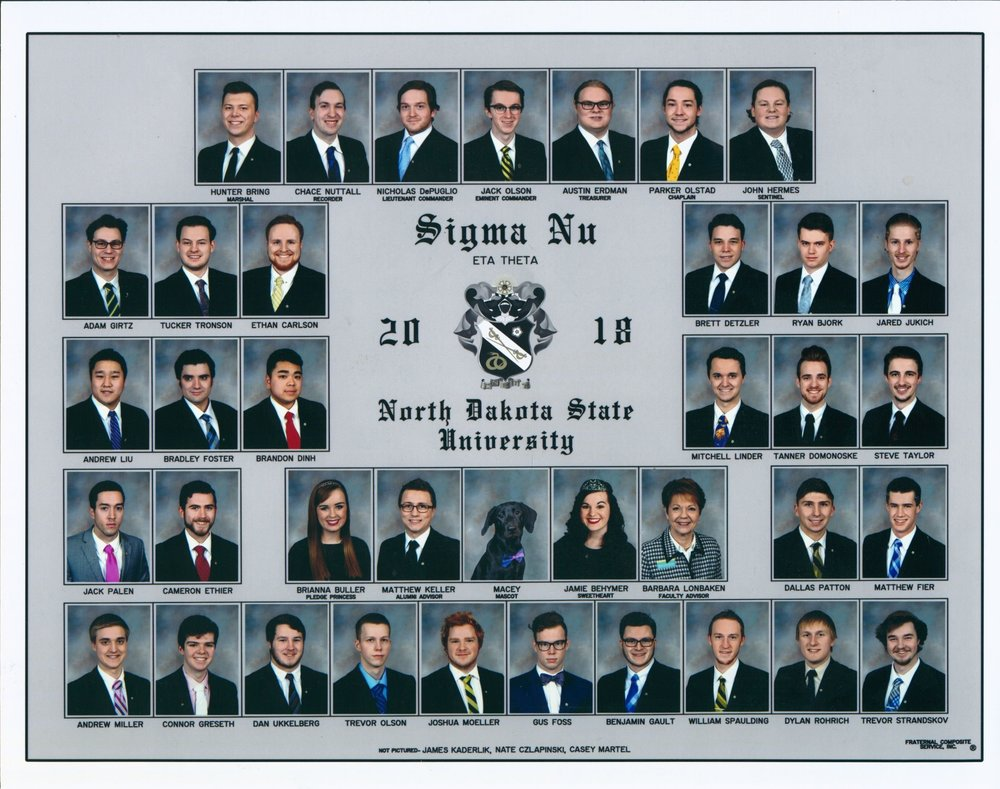 Composite for the 2018 Academic Year