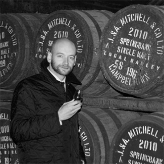 david allen, springbank distillery