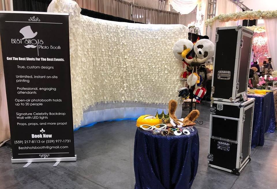 The Booths - Lights, Camera, ACTION! Take a look at our booths that each provide a wide range of services.