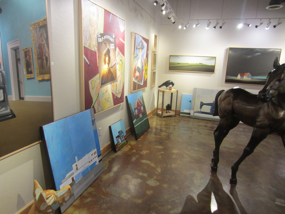 Dropping of new work at CODA Gallery in Park City