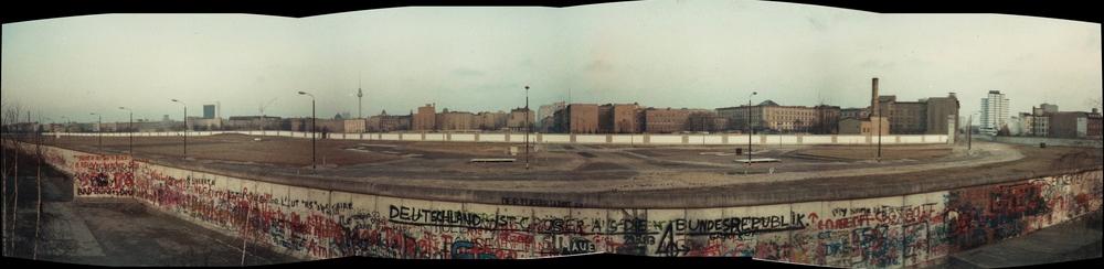 The death zone at Potsdamer Platz in 1983