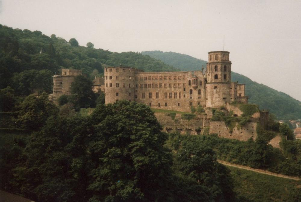 Schloss Heidelberg - June 1986