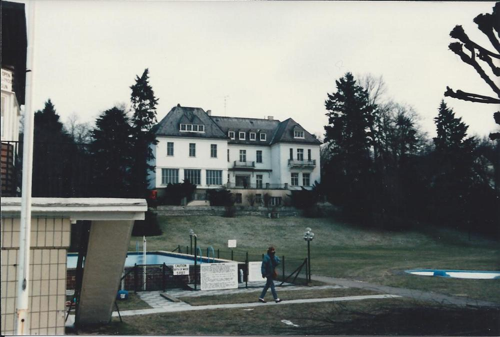 The Chateau at the Wannsee Rec Center, February 1985