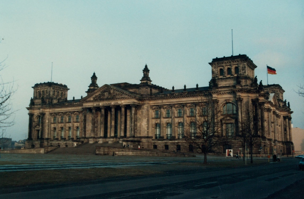 The Reichstag in Early 1985
