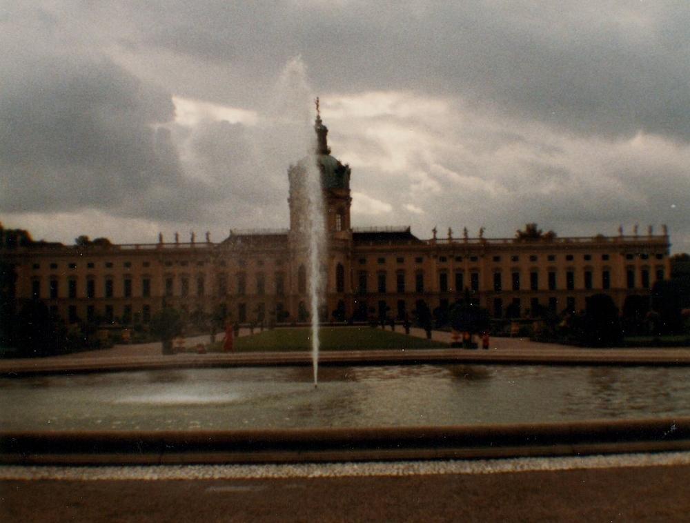 The Schloss Charlottenburg circa 1984