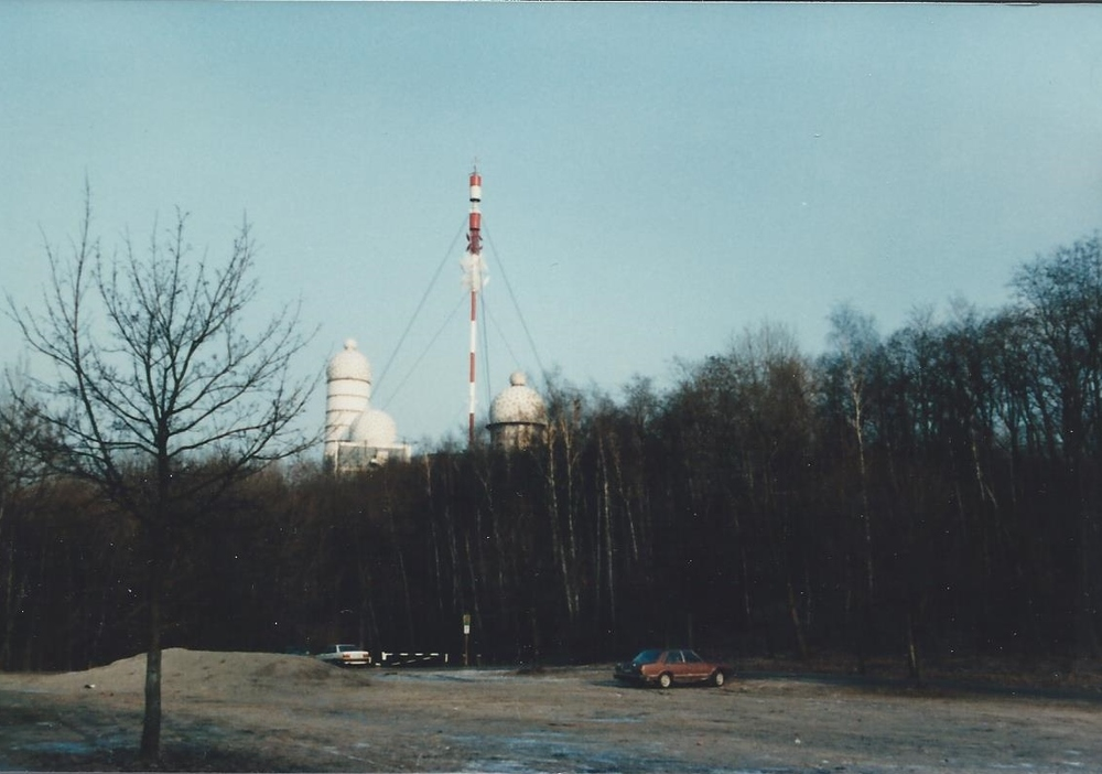 Teufelsberg in the winter of 1985