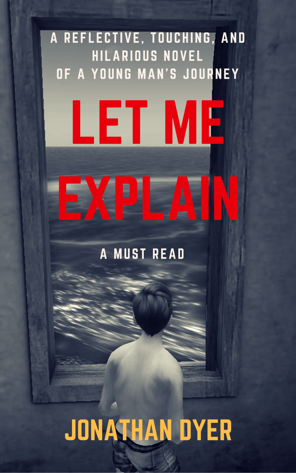 The front cover for the soon-to-be-released Let Me Explain