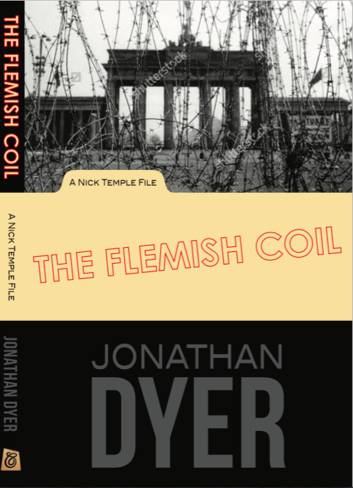 First crack at a cover for The Flemish Coil