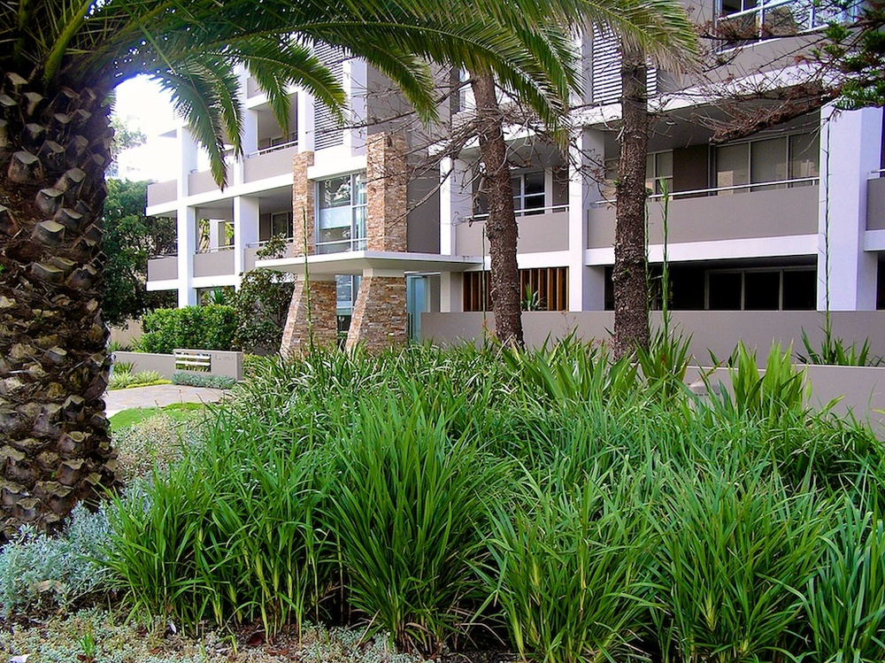 Cronulla, Drift Luxury Apartments  Landscape Architecture, Residential Estate Design