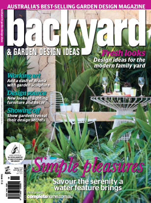 Backyard & Garden Design Ideas  February, 2014 Article about our Award Winning project in Hodge, NSW