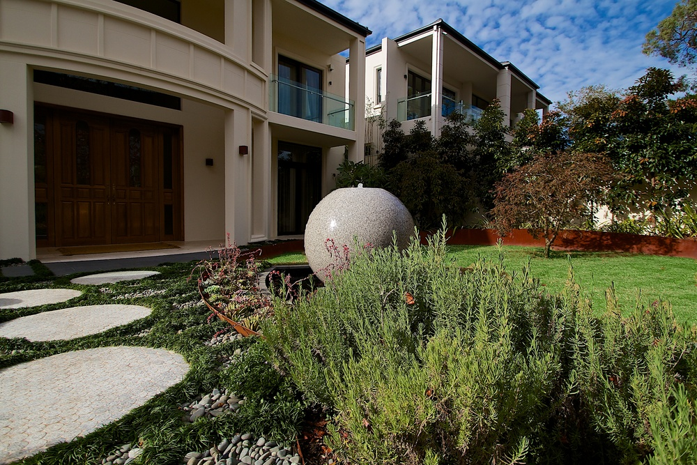 Killara #1, NSW                             Contemporary Asian garden design and construction