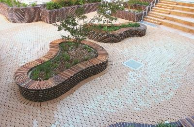 Sitdesign Project Nominated For The Bruce Mackenzie Landscape Award In 2014 Think Brick Awards SiteDesign Studios