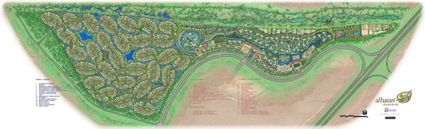 Albarari Landscape Masterplan