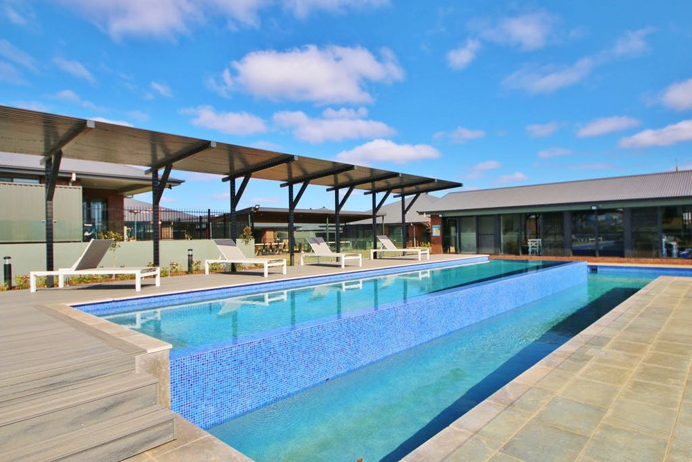 Lake View State - Communal Pool and Cabana - Dubbo for Maas Group  Residential Estate Design
