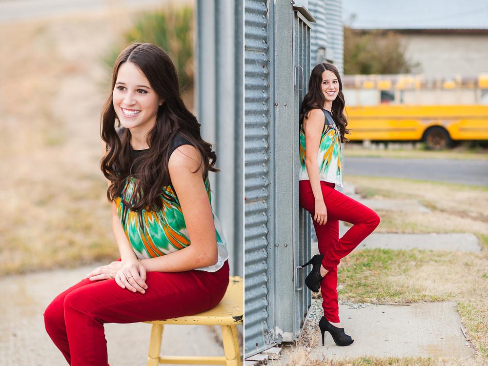 senior girl
