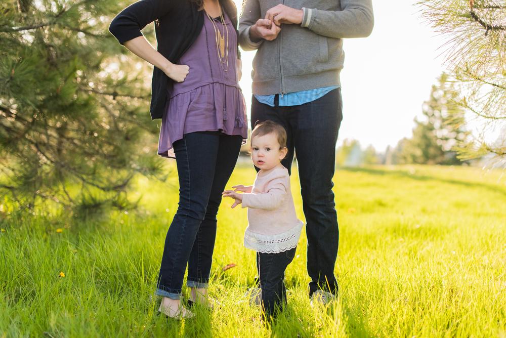 family of 3, spring