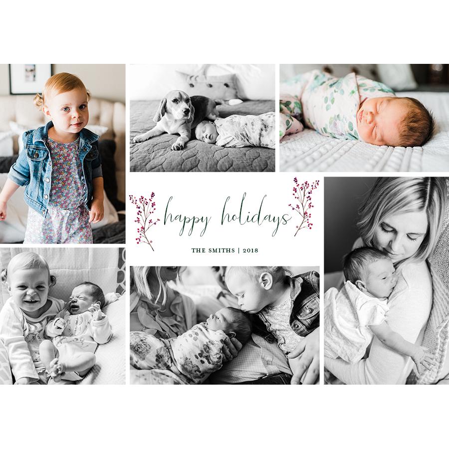 holiday card mango ink and kc england photography
