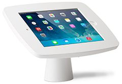iPad kiosk table top stand