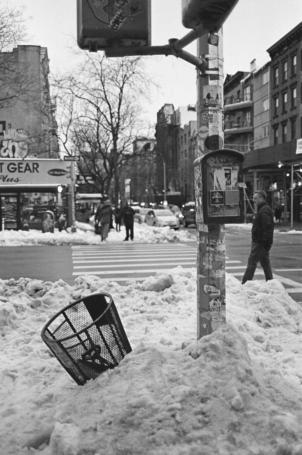 NYC Winter, 2017 Ilford HP5