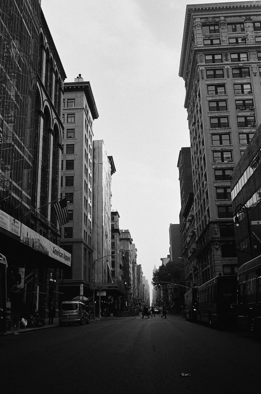 NYC, 2017 Ilford HP5