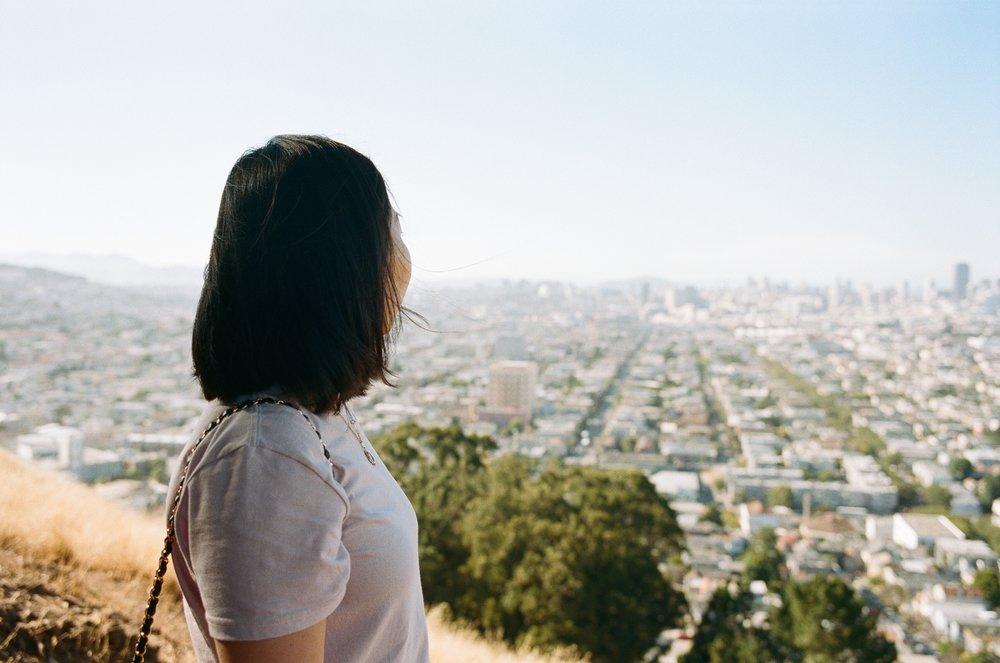 San Francisco, CA Kodak Portra 400