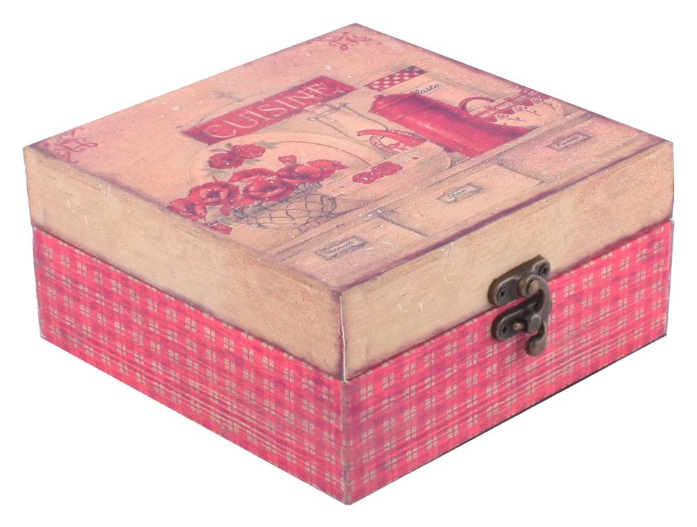 €15 WOODEN BOX 16X16X7.5