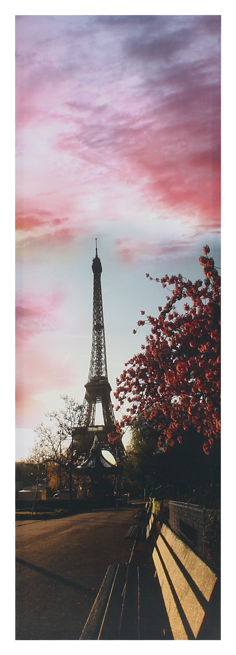 €14 CANVAS WALL PRINTING W/EIFFEL 30X3X90